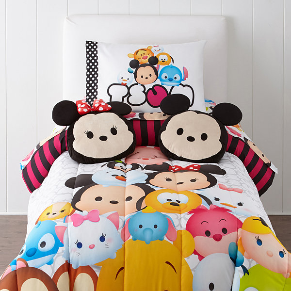 "Disney® TsumTsum ""Faces"" Twin Reversible Comforter"