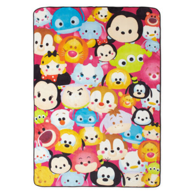 "Disney® TsumTsum ""Faces"" Fleece Blanket"