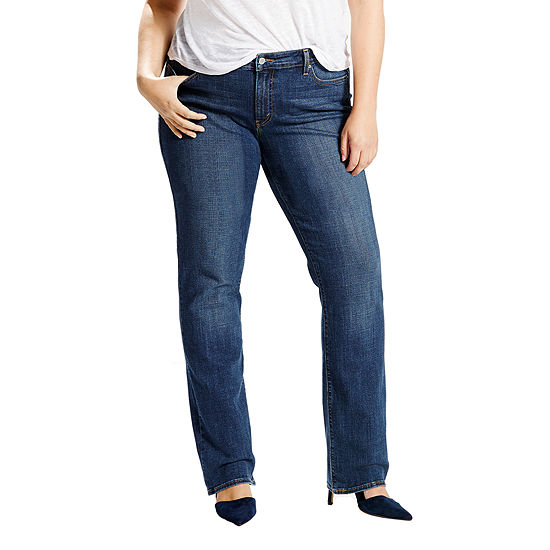 9ac5ef8ff1b Levis 414 Classic Straight 5 Pocket Jeans Plus JCPenney