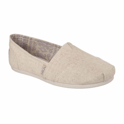 Skechers Bobs Womens Plush Best Wishes Slip-On Shoe Closed Toe