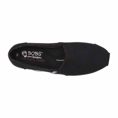 Skechers Bobs Peace And Love Womens Slip-On Shoes