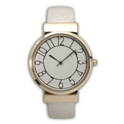Adjustable Analog Gold Tone Womens Watch