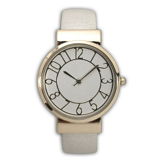 Adjustable Analog Gold Tone Womens Watch