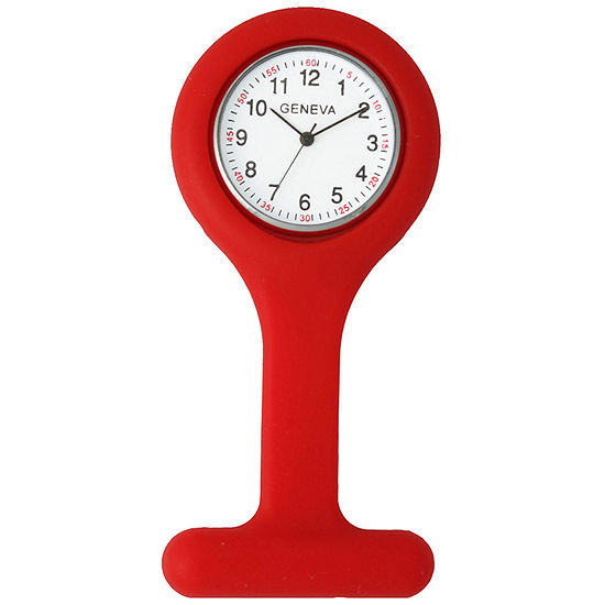 Olivia Pratt Womens Red Pocket Watch-7798