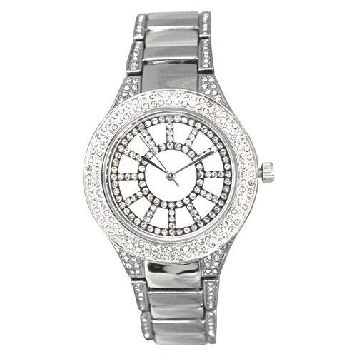 Olivia Pratt Womens Black Bracelet Watch-16191