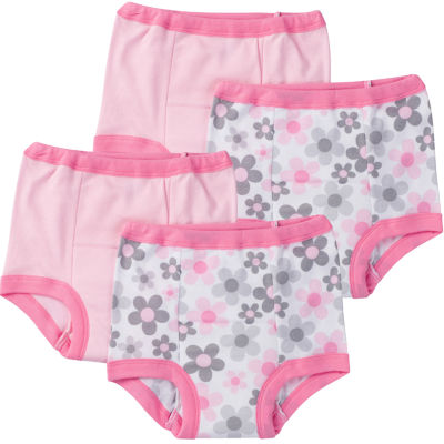 Gerber® 4 Pair Potty Training Pants Girls