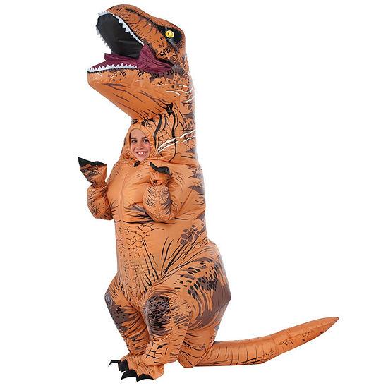 Jurassic World Kids T-Rex Inflatable Costume (One Size) Unisex Costume