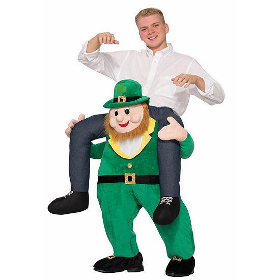 Ride A St. Patricks Day Leprechaun Adult Costume - One Size Fits Most