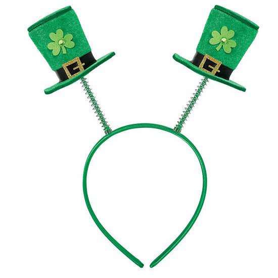 St. Patrick's Day Top Hat Boppers Adult Headband