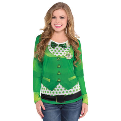 St. Patrick's Day Women's Long Sleeve Top