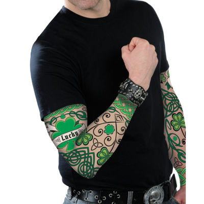 St. Patrick's Day Adult Arm Tattoo Sleeves