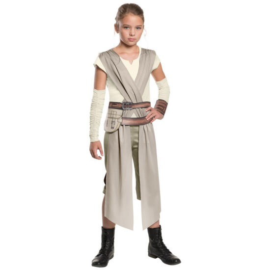 Star Wars:  The Force Awakens - Classic Rey Costume For Girls