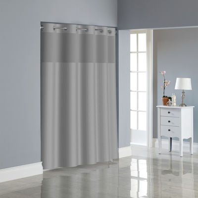 Hookless Herringbone Shower Curtain