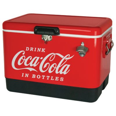 Coca-Cola® Metal Ice Chest 54-Quart