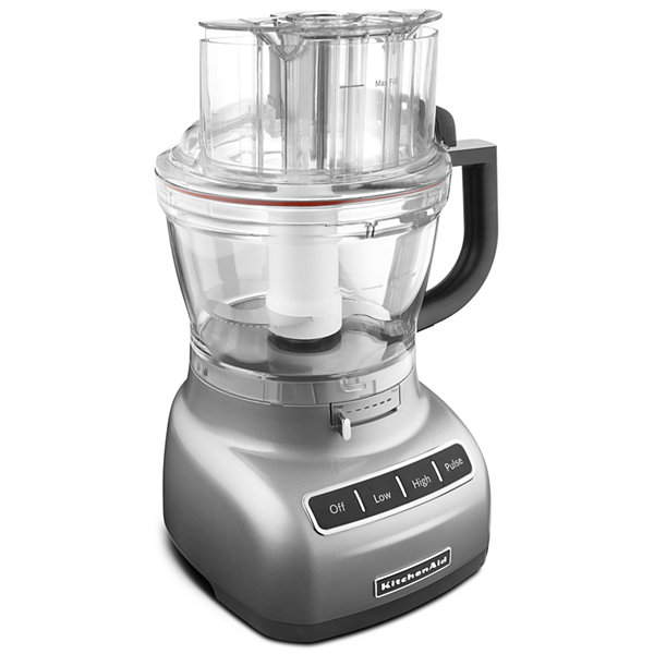 kitchenaid 13 cup food processor with exactslice system reviews