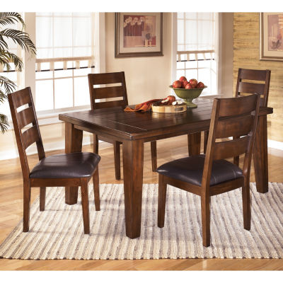 Signature Design by Ashley® Larchmont Rectangular 5-PC Dining Set ...