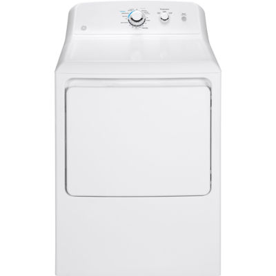 GE® 6.2 cu. ft. Aluminized Alloy Drum Electric Dryer