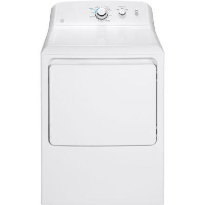 GE® 6.2 cu. ft. Aluminized Alloy Drum Gas Dryer