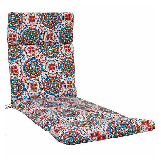 Outdoor Oasis™ Pattern Chaise Cushion