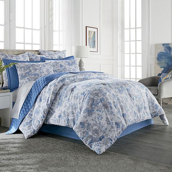 Liz Claiborne Classics Aurora 3-pc. Floral Comforter Set