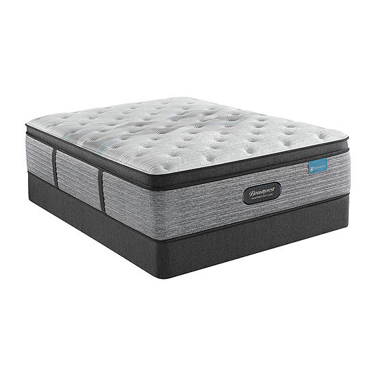 "Beautyrest® Harmony Lux Carbon 15.75"" Plush Pillowtop - Mattress + Box Spring"