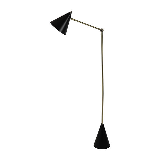 Decor Therapy John Mark Metal Task Metal Floor Lamp