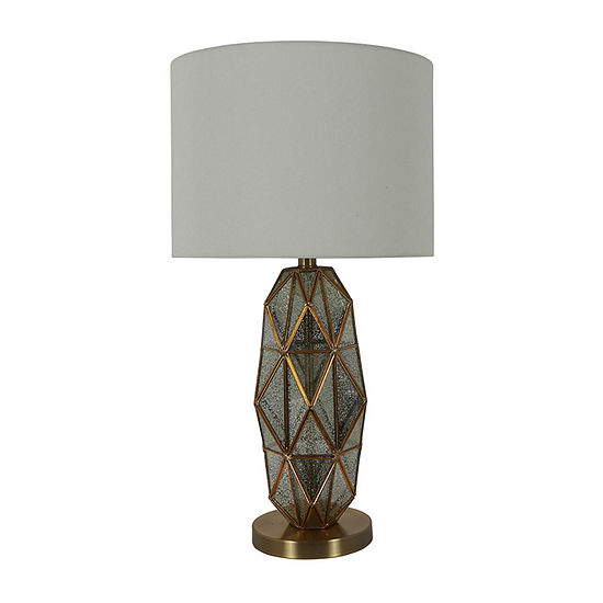 Decor Therapy Tracy Mercury Glass Table Lamp