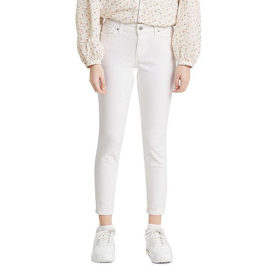 Levi's Womens Mid Rise Skinny Fit Jean