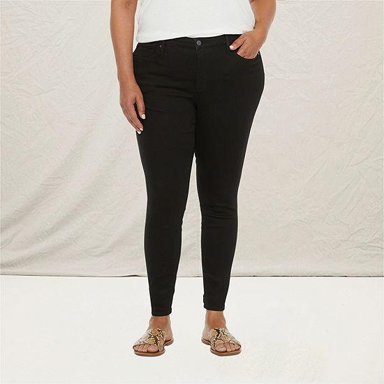 a.n.a-Plus Womens Skinny Jean