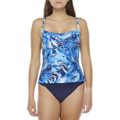 Peyton & Parker Family Swim Tie Dye Tankini Swimsuit Top