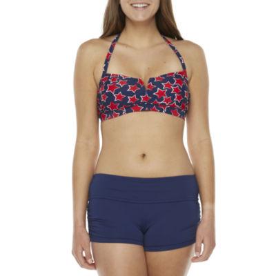 Peyton & Parker Family Swim Star Bandeau Bikini Swimsuit Top