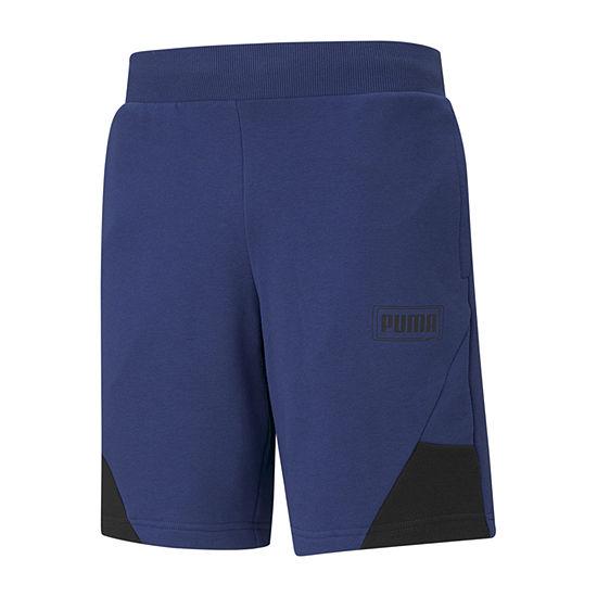 Puma Rebel Mens Workout Shorts - Big and Tall
