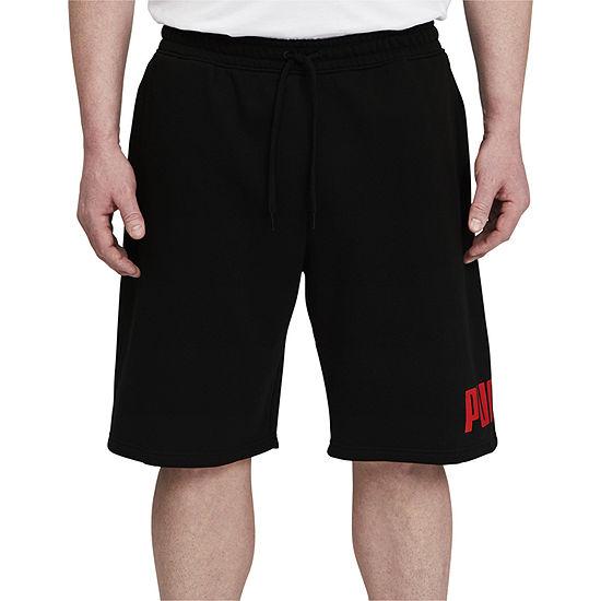 Puma Big Logo Mens Workout Shorts - Big and Tall