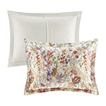 Madison Park Fiona Cotton Printed 7-pc. Floral Heavyweight Embroidered Comforter Set