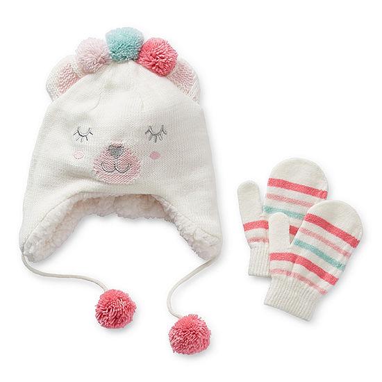 Okie Dokie Toddler Girls 2-pc. Animal Cold Weather Set