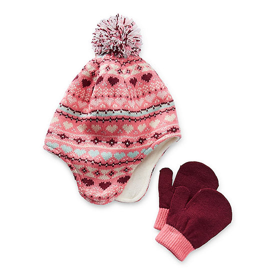 Okie Dokie Little & Big Girls 2-pc. Cold Weather Set