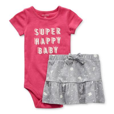 Okie Dokie Baby Girls 2-pc. Skirt Set