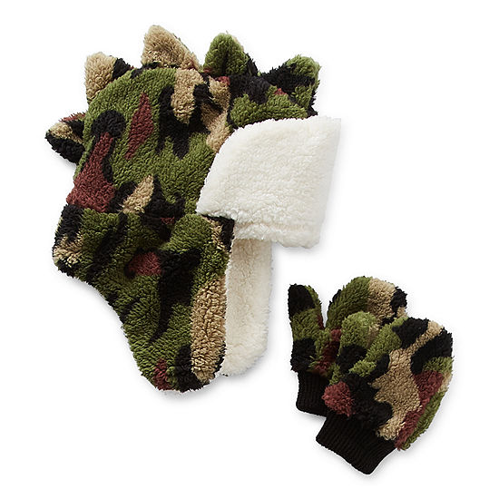 Okie Dokie Toddler Boys 2-pc. Camouflage Cold Weather Set