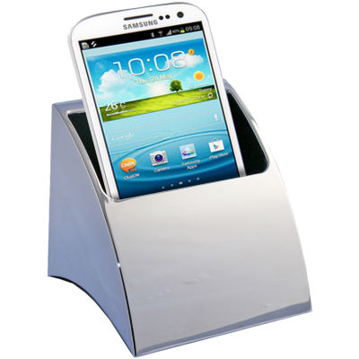Natico Silver Smart Phone Holder