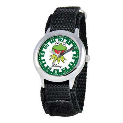 Disney Kids Time Teacher Kermit the Frog Watch