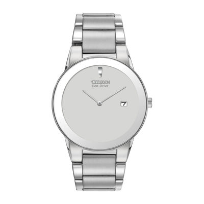 Citizen® Eco-Drive® Axiom Mens Silver-Tone Watch  AU1060-51A