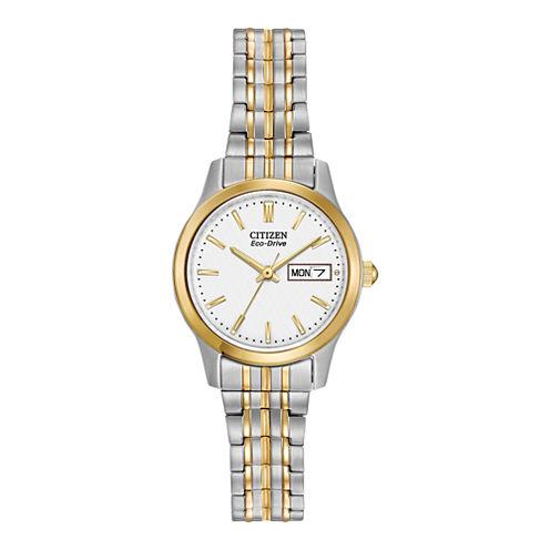 Citizen Womens Two Tone Bracelet Watch-Ew3154-90a