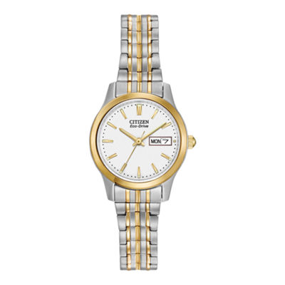 Citizen Womens Two Tone Bracelet Watch-Ew3154-90a