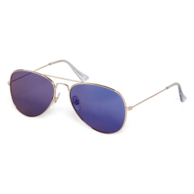 JF J. Ferrar® Mirror Aviator Sunglasses