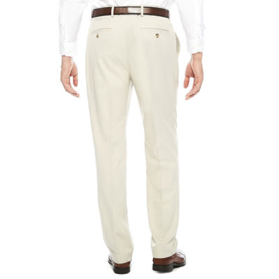 Stafford® Flat Front Dress Pants - Classic