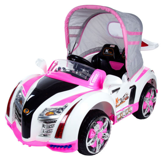Lil' Rider Pre-assembled Battery Operated Ride-On Car with Canopy