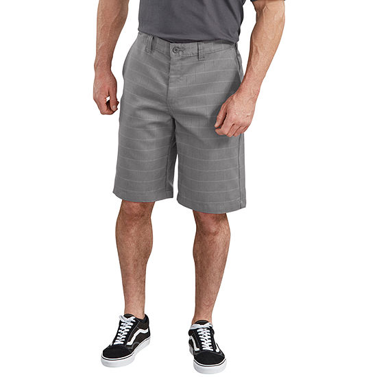 "Dickies® 11"" FLEX Relaxed Fit Shadow Plaid Shorts"
