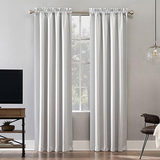 Sun Zero Oslo Extreme Blackout Poletop Curtain Panel