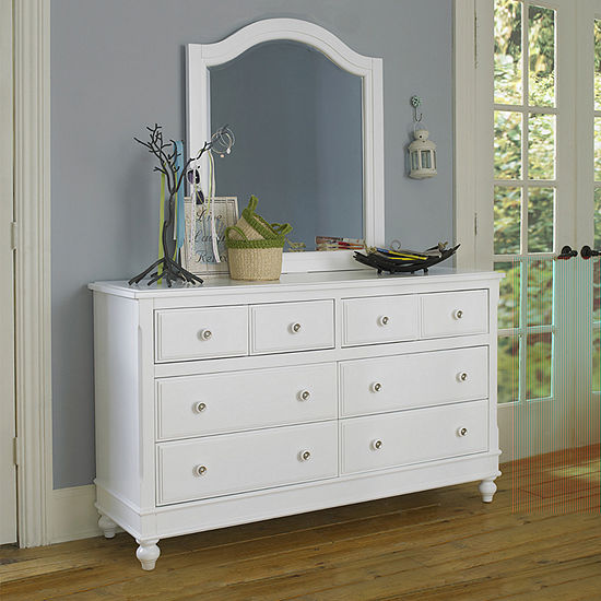 Lake House Dresser and Mirror