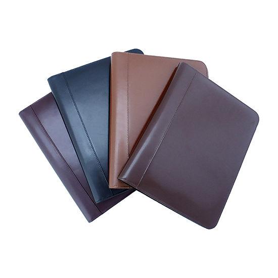 Classic leather padfolio